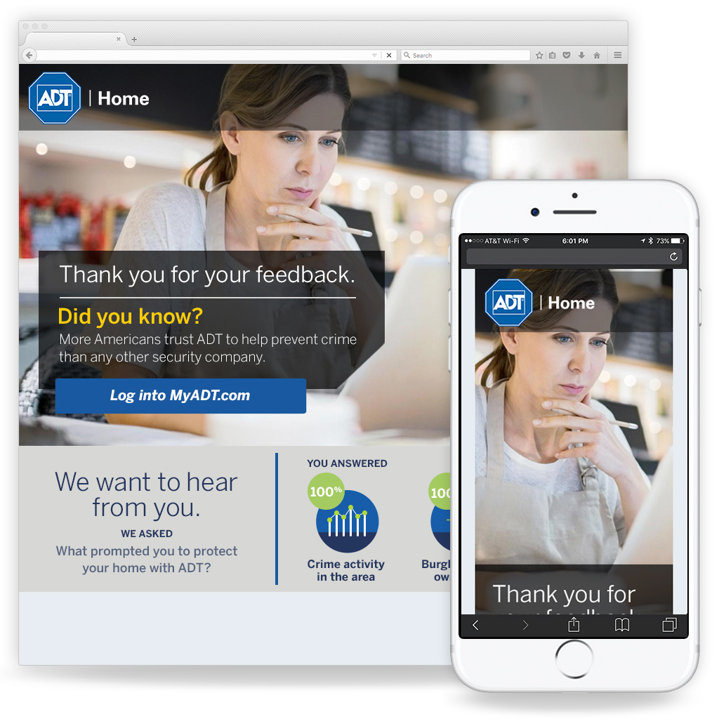 ADT - Landing Page